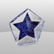 SB638 Marble Star Paperweight